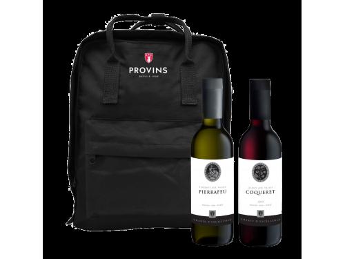 Das Ausflugbag - Kühl-Rucksack mit 2 Flaschen