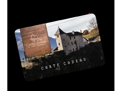 Carte cadeau pour le Castel d'Uvrier