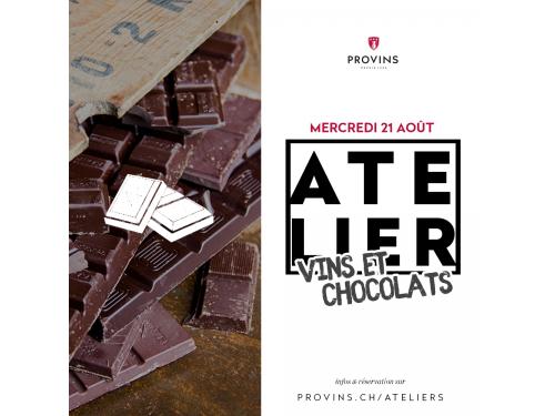 """Expérience """"Atelier Vins & Chocolats"""""""