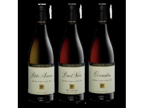 Maître de Chais - Coffret 3 bouteilles